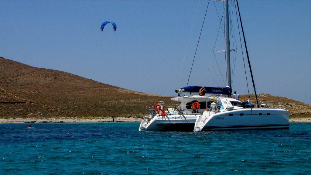 kitesurf sailing trip