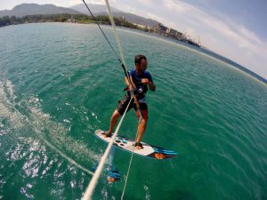 kiteboarding school kite foil